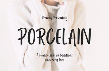 Porcelain Sans Serif