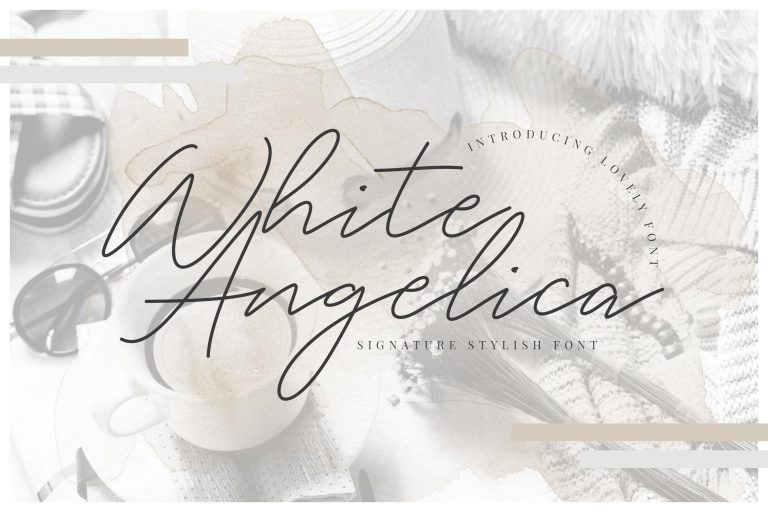 White Angelica Signature
