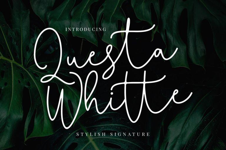 Questa Whitte Script