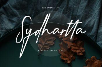 Sydhartta Stylish Signature