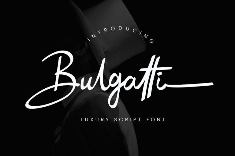 Bulgatti Luxury Script