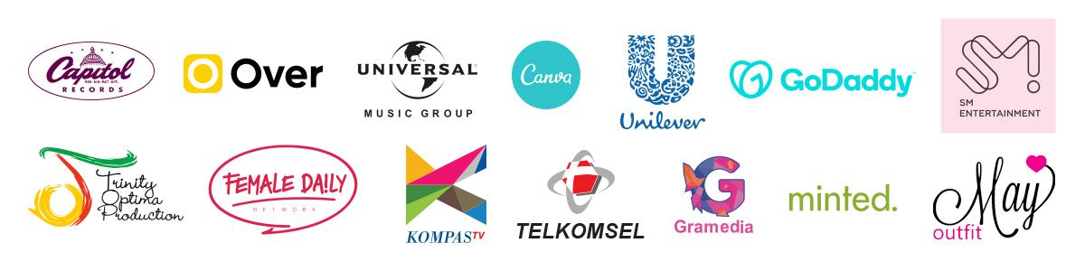 clients logos colors